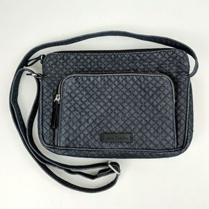 Vera Bradley | Quilted Denim Classic Crossbody Bag